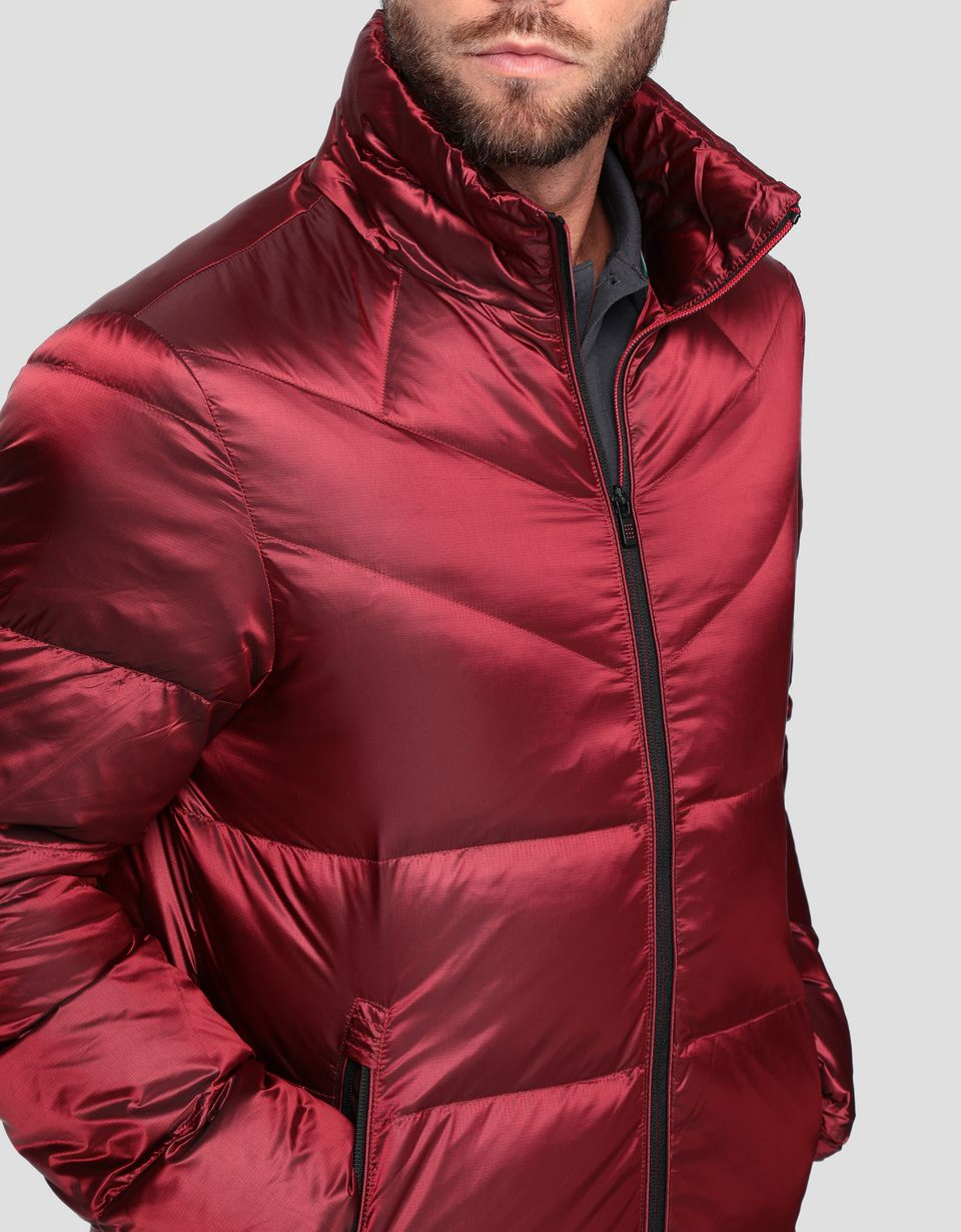 Scuderia Ferrari Online Store - Padded men's jacket in REAL DOWN - Down Jackets