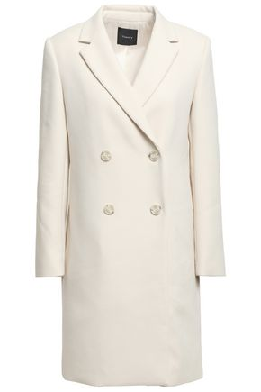 THEORY Double-breasted twill coat