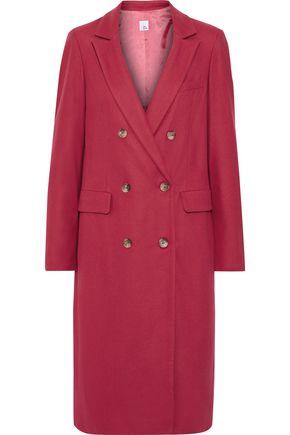 IRIS & INK Runa double-breasted wool-blend coat