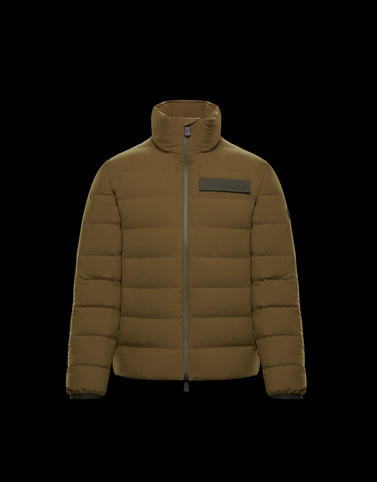 KANDER Military green Down Jackets Man