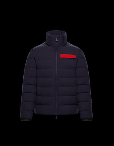 KANDER Dark blue Grenoble Jackets and Down Jackets Man
