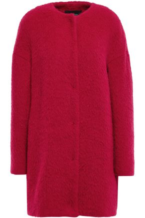 GIAMBATTISTA VALLI Brushed wool, alpaca and silk-blend coat