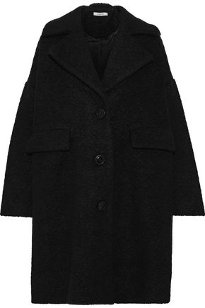 GANNI Penn wool-blend bouclé coat