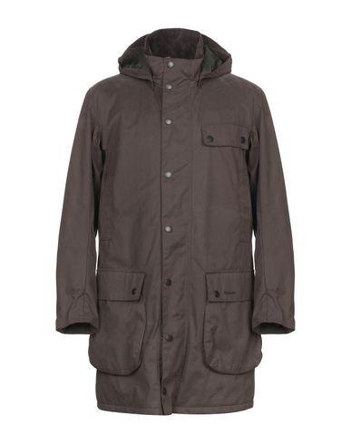 Фото - Мужское пальто или плащ BARBOUR темно-коричневого цвета