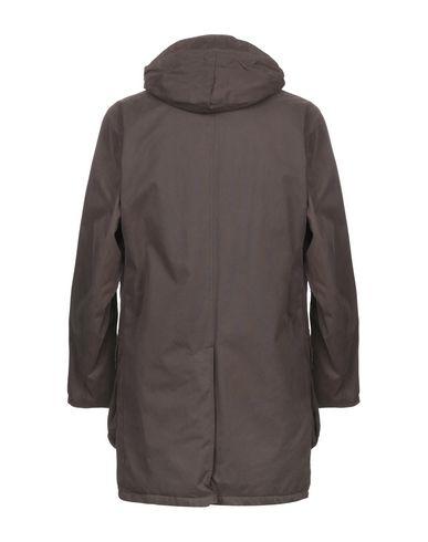Фото 2 - Мужское пальто или плащ BARBOUR темно-коричневого цвета