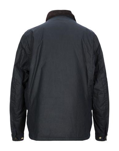 Фото 2 - Мужскую куртку HACKETT темно-синего цвета