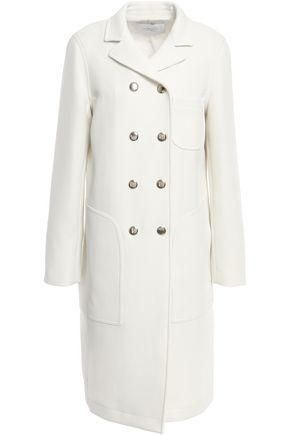 GIAMBATTISTA VALLI Double-breasted twill coat