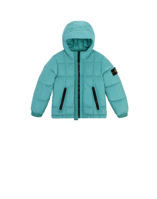 Jacket 40133 GARMENT DYED CRINKLE REPS NY DOWN  STONE ISLAND JUNIOR - 0