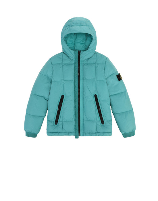 STONE ISLAND JUNIOR Giubbotto 40133 GARMENT DYED CRINKLE REPS NY DOWN