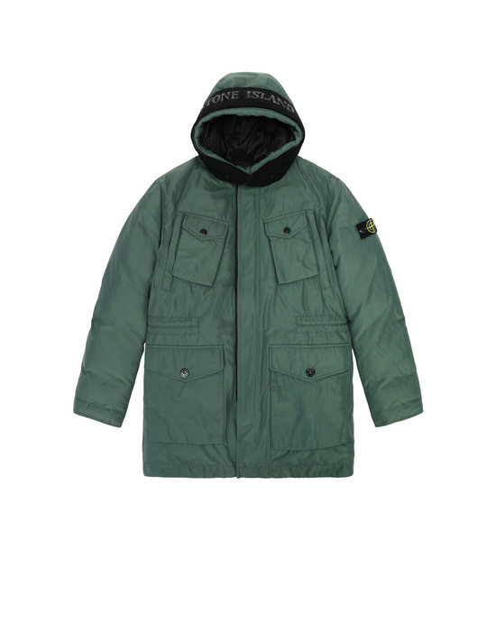 Jacket 40534 MICRO REPS DOWN STONE ISLAND JUNIOR - 0