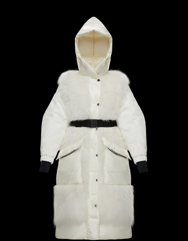 SARINA White Jackets Woman