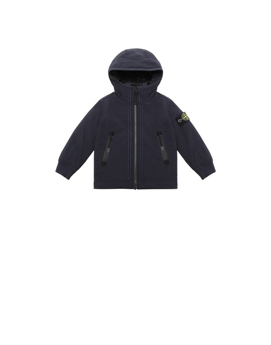 Jacket 40331 SOFT SHELL-R WITH PRIMALOFT® INSULATION TECHNOLOGY STONE ISLAND JUNIOR - 0