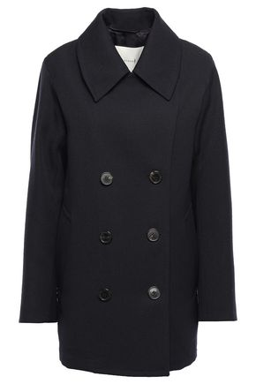MACKINTOSH Double-breasted wool-twill coat