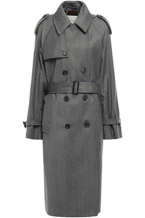 MACKINTOSH Mélange wool-twill trench coat