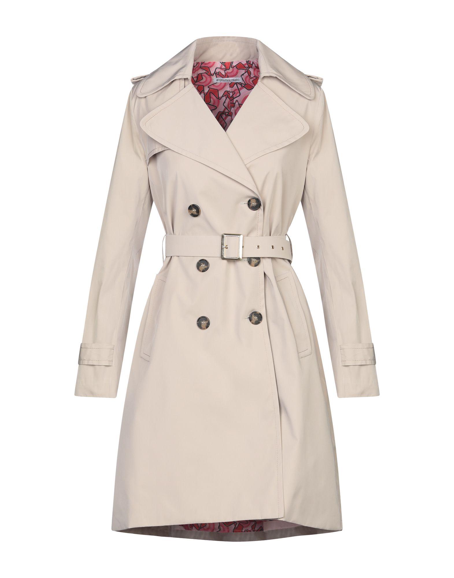 ANGELA MELE MILANO Легкое пальто larusmiani milano легкое пальто
