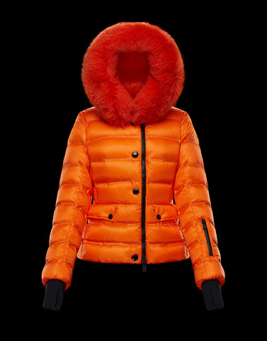 ARMOTECH Orange Grenoble Down Jackets and Gilets Woman