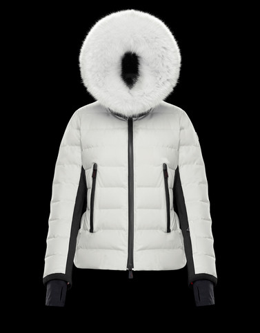 LAMOURA White Short Down Jackets