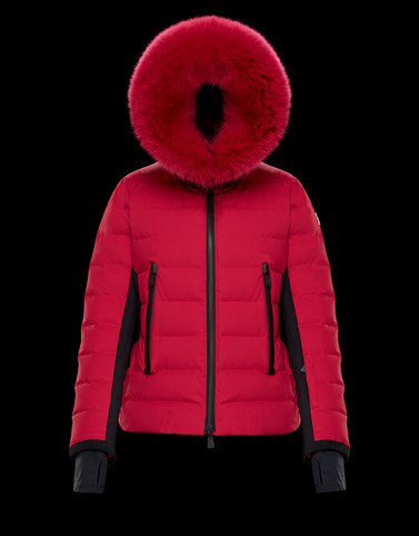 LAMOURA Fuchsia Grenoble Down Jackets and Gilets Woman