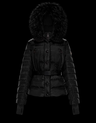 BEVERLEY Black Grenoble Down Jackets and Gilets Woman