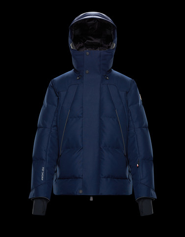 GORNER Dark blue Down Jackets Man