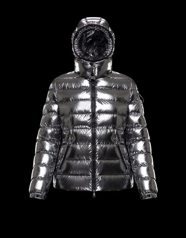 BADY Silver Short Down Jackets Woman