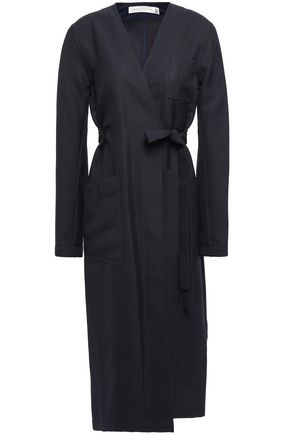 VICTORIA BECKHAM Woven wrap coat