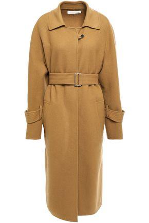 VICTORIA BECKHAM Belted wool and cashmere-blend felt coat