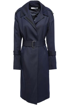 VICTORIA BECKHAM Wool-twill hooded trench coat