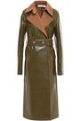 VICTORIA BECKHAM Belted coated wool-blend trench coat