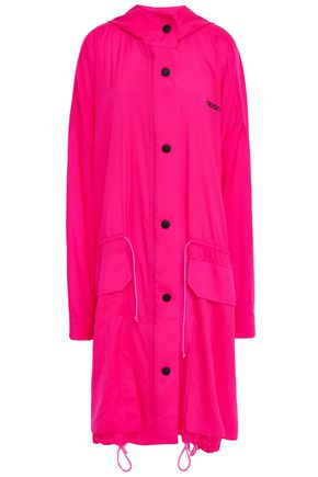 HOUSE OF HOLLAND Neon shell hooded jacket