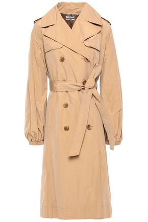 CO Belted taffeta trench coat