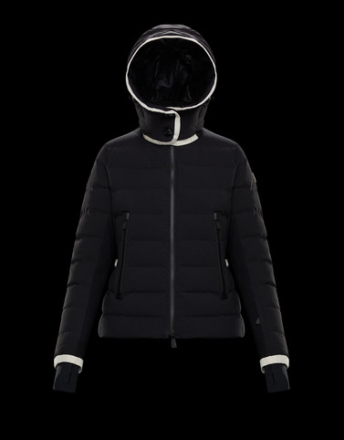 LAMOURA Black Short Down Jackets Woman