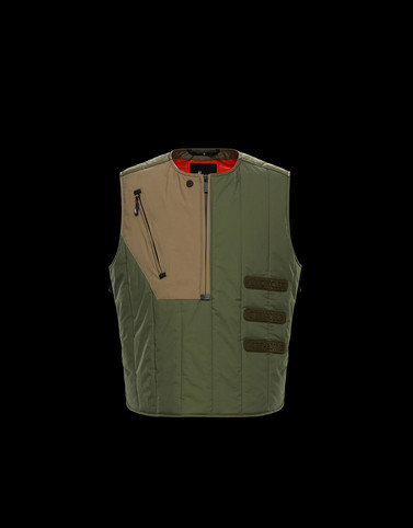 ALSEK Dark green Category Waistcoats Man