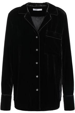 FRAME Velvet shirt