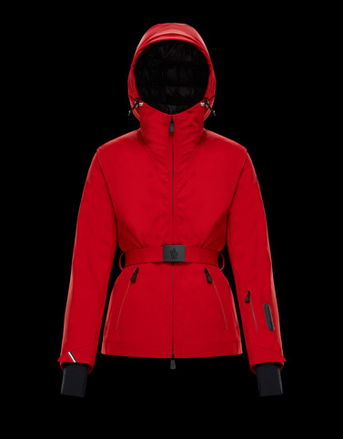EMBREE Red Category Overcoats Woman