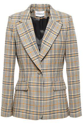 CLAUDIE PIERLOT Valerie checked woven blazer