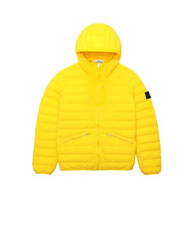 STONE ISLAND JUNIOR Jacket Man 40632 LOOM WOVEN DOWN CHAMBERS STRETCH NYLON-TC  f