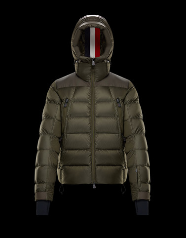 CAMURAC Military green Grenoble Jackets and Down Jackets