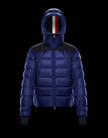 CAMURAC Blue Grenoble Jackets and Down Jackets Man