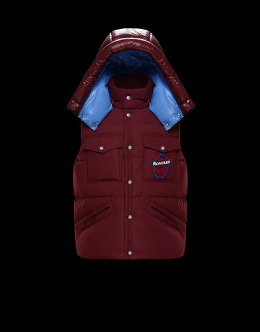 MONTILLET Maroon View all Outerwear Man