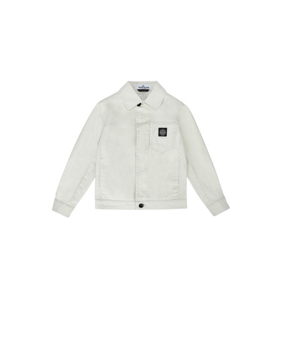 STONE ISLAND KIDS Jacket 40910 CANVAS PLACCATO