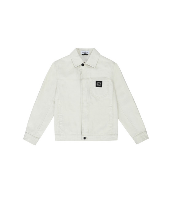 STONE ISLAND JUNIOR Jacket 40910 CANVAS PLACCATO
