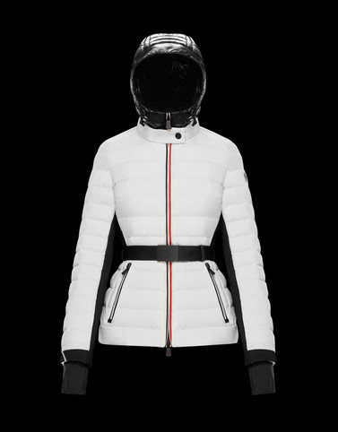 BRUCHE Ivory Short Down Jackets Woman