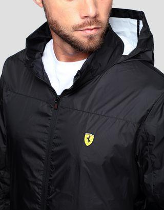 Scuderia Ferrari Online Store - Men's water resistant foldaway jacket - Raincoats