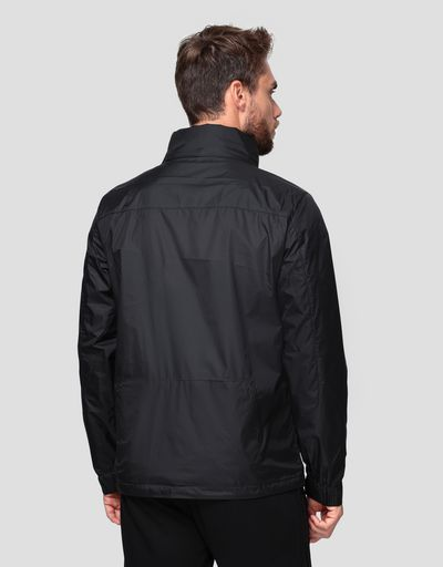 Men's water resistant foldaway jacket