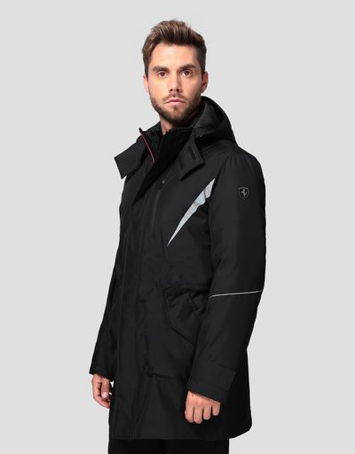 Men's 2-in-1 parka in T2 TECH-TWILL with REAL DOWN fill