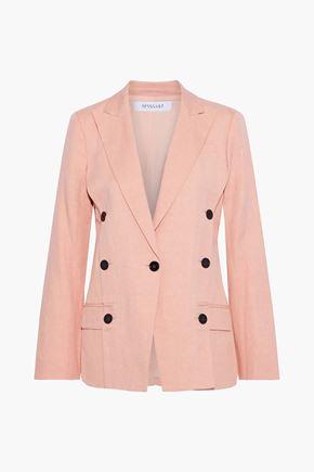 DEREK LAM 10 CROSBY Button-detailed twill blazer
