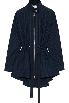 ADAM LIPPES Textured-cotton jacket