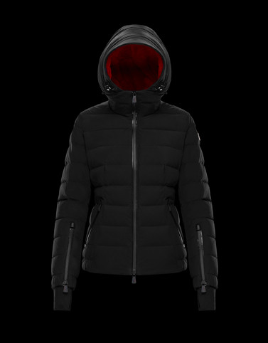 CHENA Black Grenoble Down Jackets and Gilets Woman