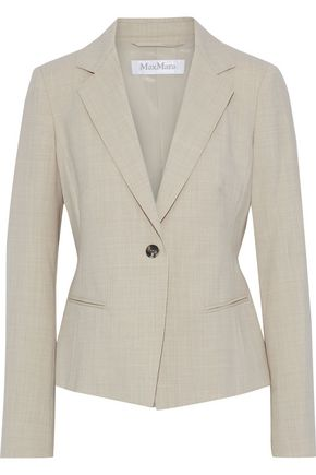 MAX MARA Albert wool-blend twill blazer